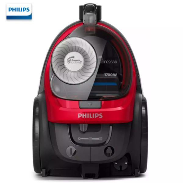 Máy hút bụi không túi thương hiệu Philips FC9588/81 - Công suất 1700W - HÀNG NHẬP KHẨU BẢO HÀNH 12 THÁNG