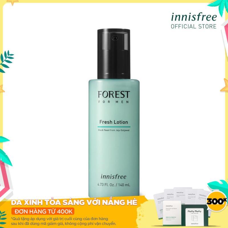 Sữa dưỡng innisfree Forest for men Fresh Lotion 140ml giá rẻ