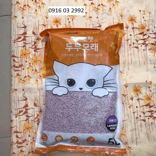 Cát Đậu Nành - Cát Đậu Phụ (Cát Xả Bồn Cầu) - Lavender