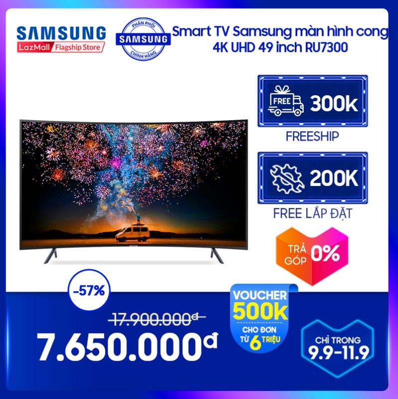 Bảng giá [FREESHIP 300K] Smart TV Samsung màn hình cong 4K UHD 49 inch RU7300