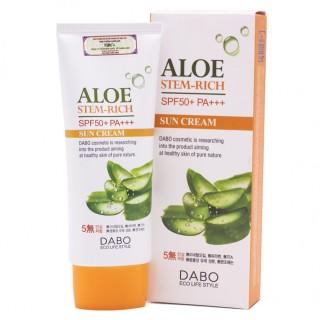 Kem chống nắng dưỡng da tinh chất lô hội Dabo Aloe Stem Rich Cream ( 70m ) thumbnail