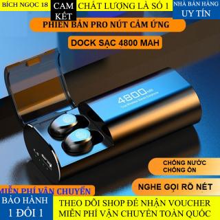 Tai nghe bluetooth F9 S11 Tai nghe không dây pin 4800 mAh kiêm sạc dự phòng cho điện thoại, tai nghe bluetooth âm thanh 9D tai nghe chống nước, chống ồn, tai nghe dùng cho mọi điện thoại thumbnail