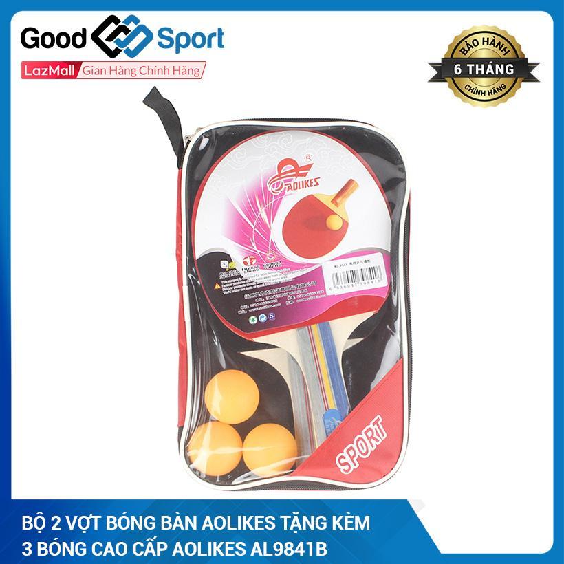 Bảng giá Combo vợt 2 bóng bàn tặng kèm 3 bóng cao cấp Aolikes AL9841B