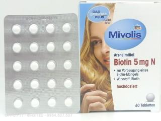 Biotin 5 mg N Đẹp Da, Tóc Và Móng thumbnail