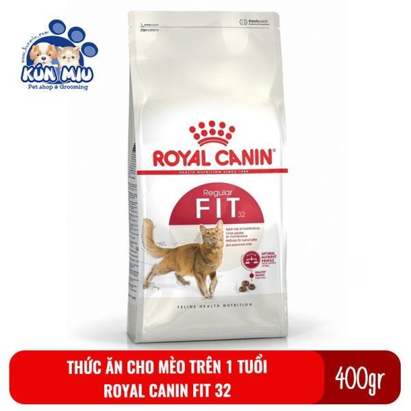 Thức ăn cho mèo trưởng thành trên 1 tuổi Royal Canin Fit 32 400g
