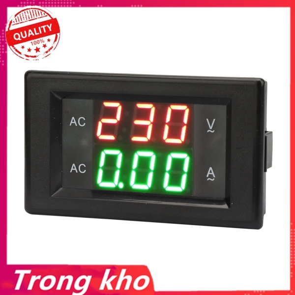 YB4835VA Màn Hình Kỹ Thuật Số AC 500V/50A LED Ampe Kế Vôn Kế