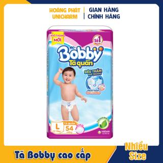 Bỉm Tã Bobby cao cấp , tã Dán và Quần Size XL, XXL, M và L 16, 18, 30 và 34 miếng thumbnail