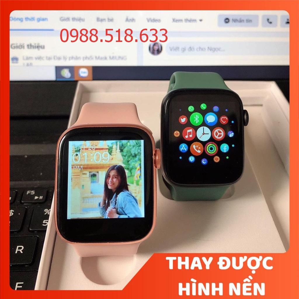 Đồng Hồ Thông Minh T500 Smart Watch Seri 5,6 - SMART WATCH T500 - Thay được hình nền tùy ý từ điện thoại -Thiết kế thời thượng,thông minh - Nghe gọi trực tiếp  - Giao diện tổ ong - hỗ trợ tiếng Việt và nhiều tính năng khác
