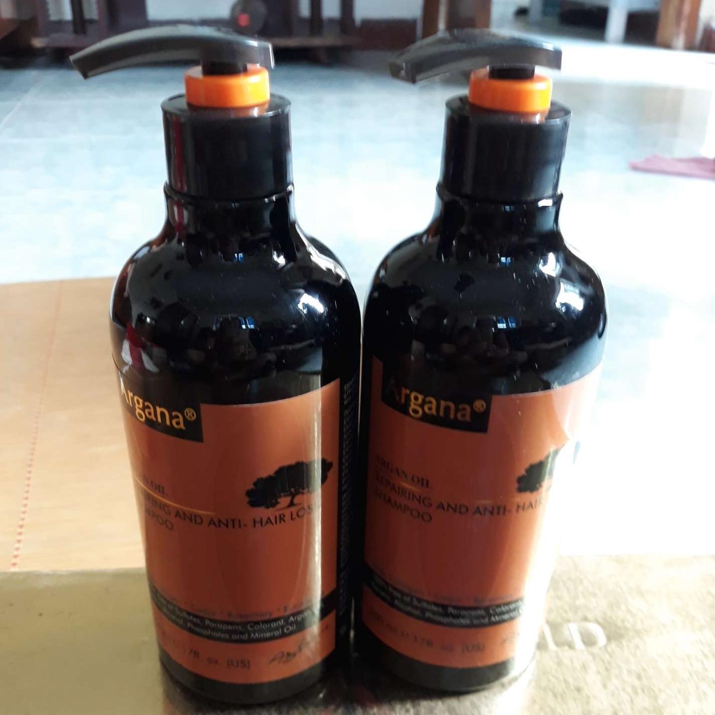 Combo dầu gội xả phục hồi và trị gàu cao cấp Argana ( hàng chính hãng )