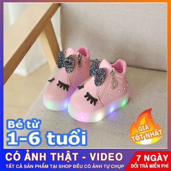 Giá bán giày thể thao mi thỏ phát sáng-Giày bé gái - giay be gai - giày cho bé gái - giay cho be gai - giày trẻ em - giày thể thao cho bé gái