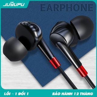 Tai nghe JUYUPU M3 chống ồn cao cấp nhét tai jack 3.5mm chính hãng dành cho iPhone Samsung OPPO VIVO HUAWEI XIAOMI tai nghe có dây thumbnail