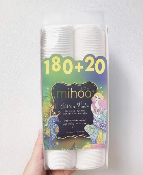 Bông tẩy trang Mihoo 200 miếng