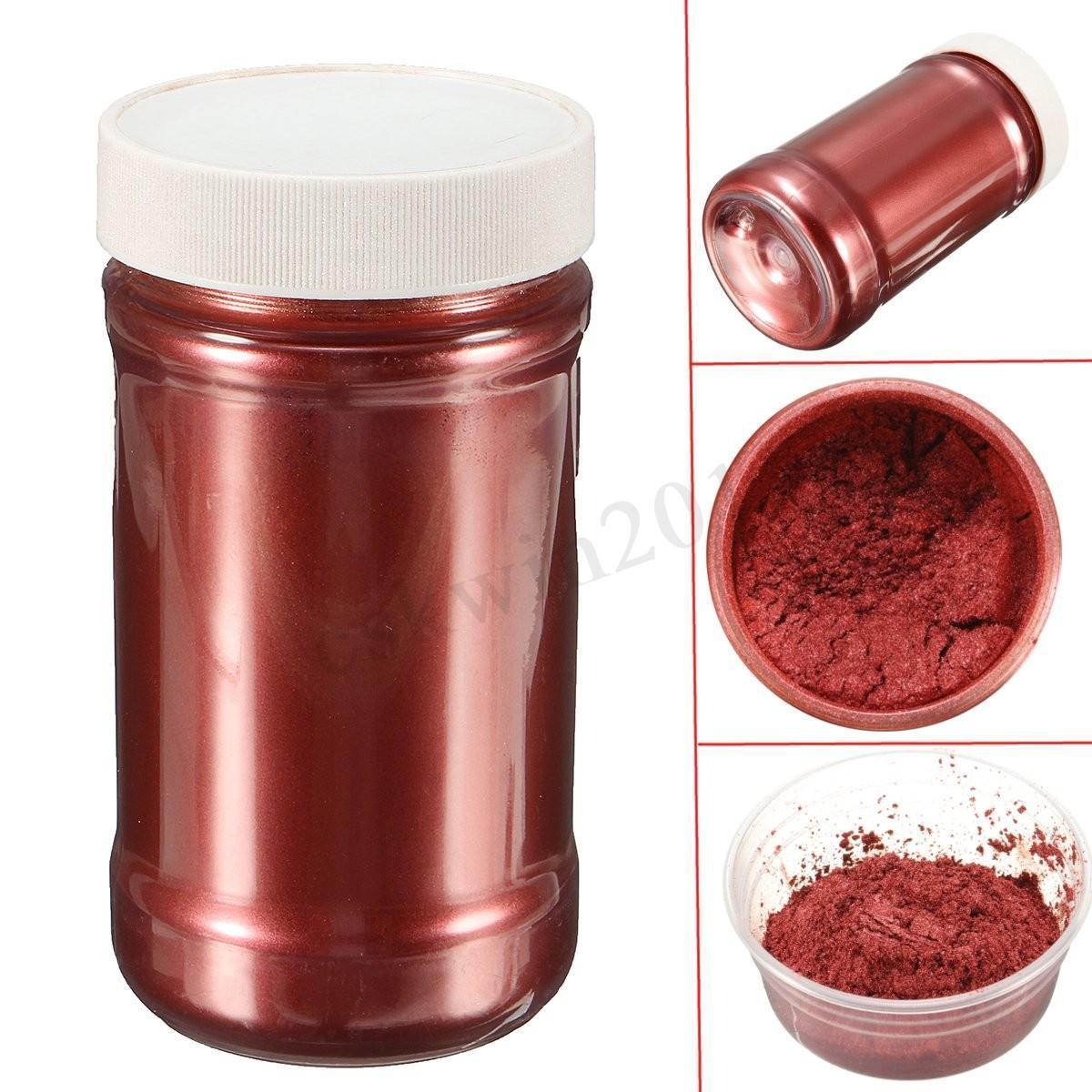 Bột camay nhũ ánh kim pha Epoxy Resin màu ĐỒNG ĐỎ - RED COPPER - Loại 1kg