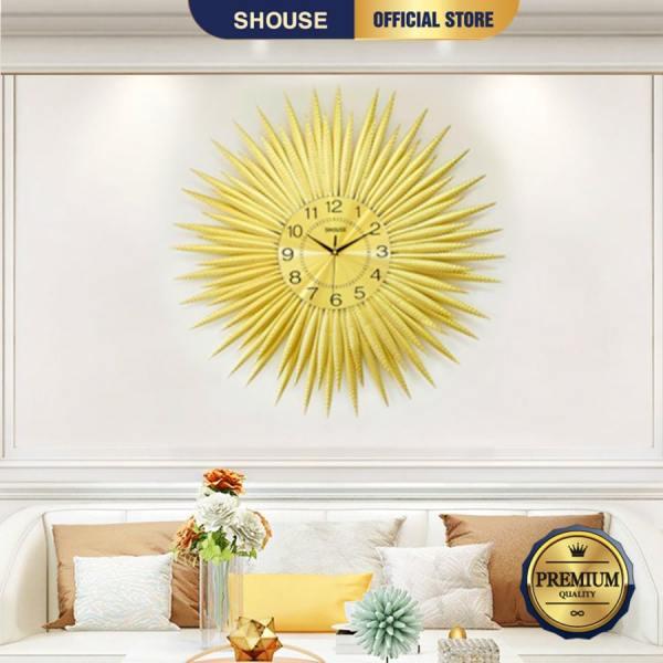 Nơi bán Đồng Hồ Treo Tường Trang Trí Đẹp S-A63 độc lạ 3d cỡ lớn nghệ thuật phù hợp cho phòng khách, phòng ngủ