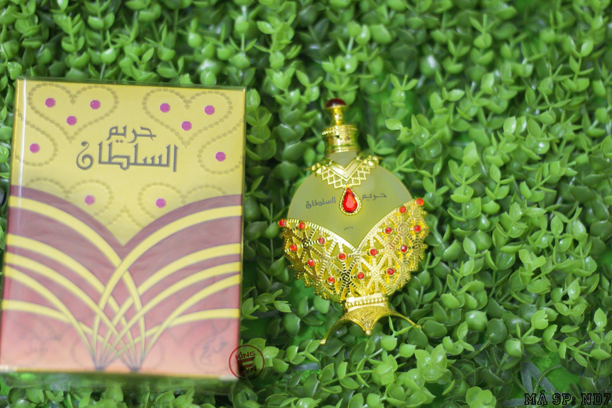 Tinh Dầu Nội Địa Hareem Al Sultan- Nữ Hoàng Đỏ- Tặng mẫu thử 1ML Thiết Kế nhập khẩu