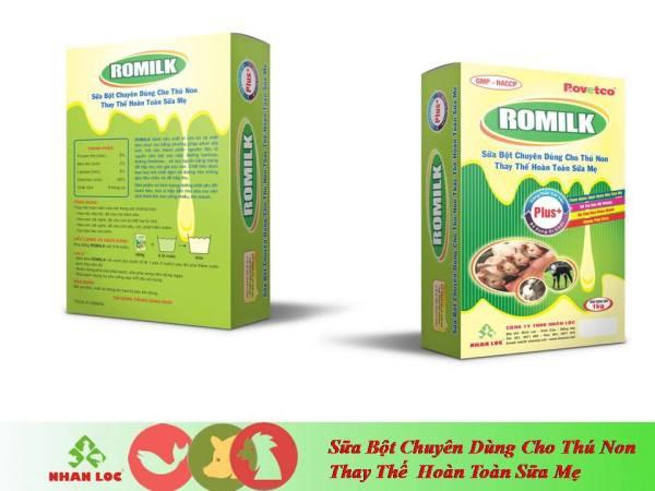 Romilk Sữa bột chuyên dùng cho thú non (1kg)