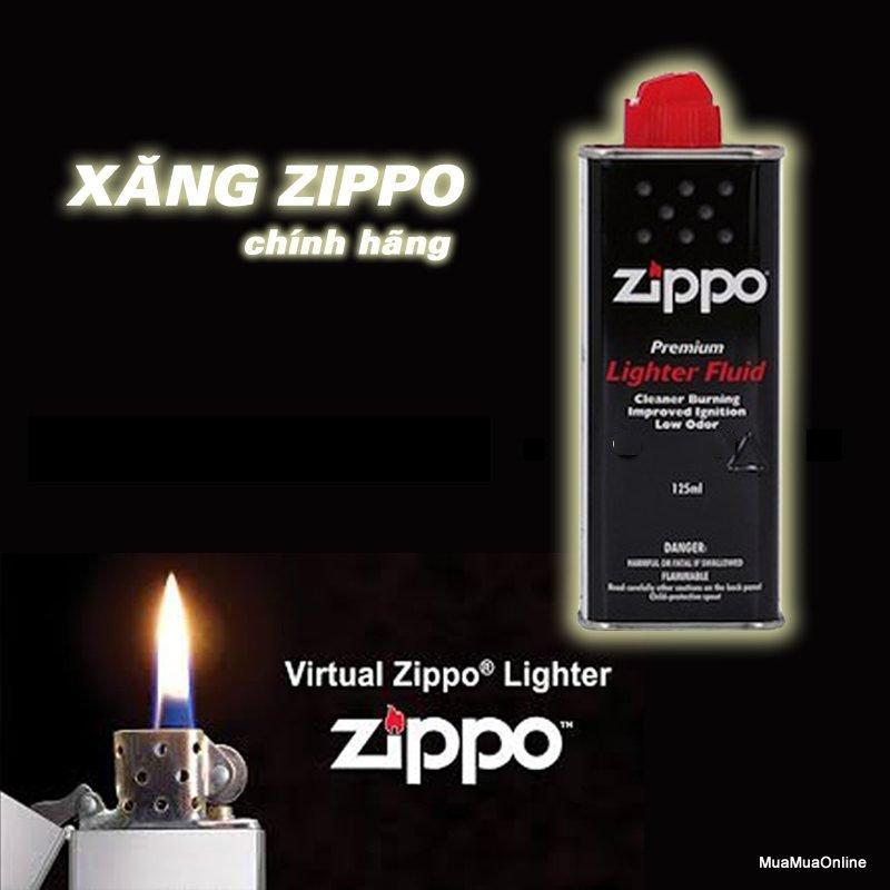 Bình Bơm Cho Hộp Quẹt Zippo Cao Cấp