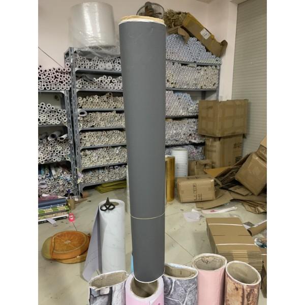 DECAL 1m Giấy dán tường khổ rộng 60cm ( có sẵn keo ) - mặt nhám xám đậm