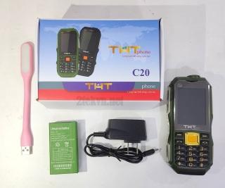 Điện thoại pin trâu thth c20 có angten Fm kiêm sạc dự phòng thumbnail