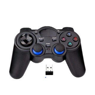 Tay cầm chơi game PC Laptop Điện Thoại TV Android TV Box - Tay cầm chơi game không dây USB Bluetooth 2.4G 3