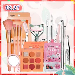 [Peachy Sis] Bộ trang điểm mắt + bộ dụng cụ làm sạch mặt (bộ 16 món) thumbnail