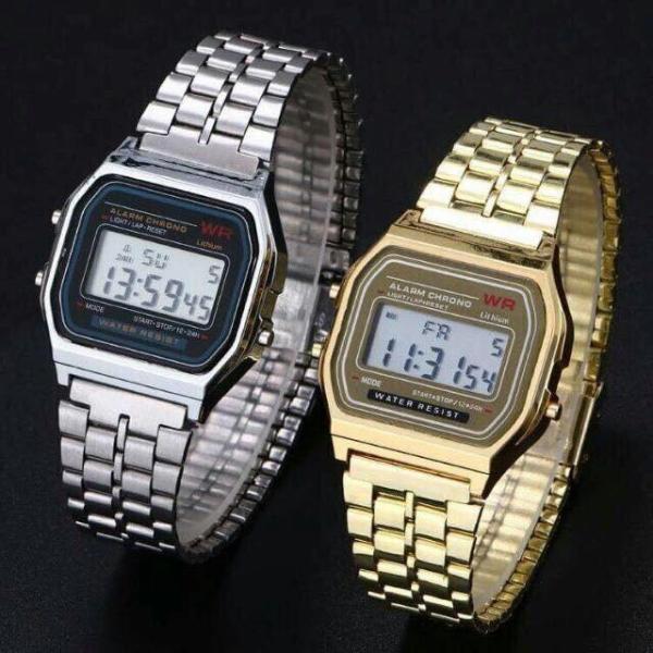 Nơi bán Đồng hồ nam nữ WR dây hợp kim CS1 chất liệu cao cấp chống xước tốt chống nước sinh hoạt