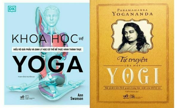 nguyetlinhbook - Combo Khoa Học Về Yoga + Tự Truyện Của Một Yogi