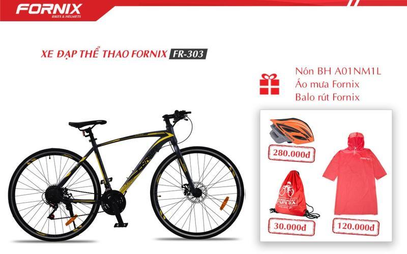 Phân phối Xe đạp thể thao Fornix FR303 + (Gift) Nón BH A01NM1L, Áo mua, Túi Fornix