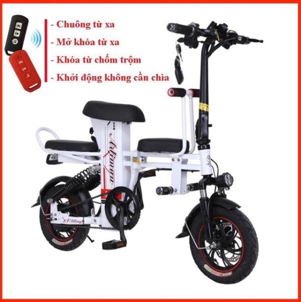 Mua Xe Điện Gấp Gọn ADIMAN - Xe Đạp Điện - 3 Ghế Ngồi - Pin Lithium -xe điện người lớn -100 km/ lần sạc - xe máy điện - xe đạp điện - xe đạp điện giá rẻ - xe đạp điên mini - xe điện người lớn - xe máy điện