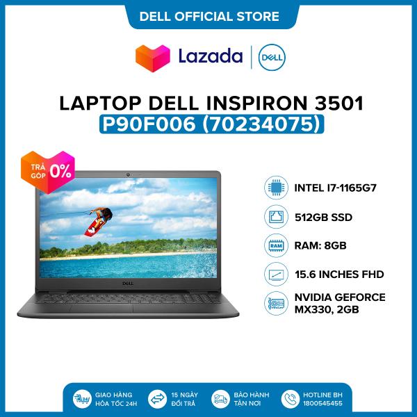 Bảng giá [VOUCHER 500K] Laptop Dell Inspiron 3501 15.6 inches FHD (Intel / i7-1165G7 / 8GB / 512GB SSD / NVIDIA GeForce MX330, 2GB / McAfee MDS / Win 10 Home SL) l Black l P90F006 (70234075) l HÀNG CHÍNH HÃNG Phong Vũ