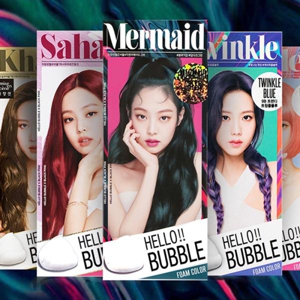 Thuốc nhuộm tóc nhiều màu Blackpink Miseenscene Hello Bubble thuốc nhuộm tóc tạm thời MSNTH Neity cao cấp