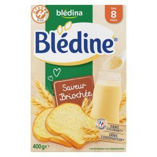 Bột Lắc Sữa Yến Mạch Bledina Cho Bé 8 Tháng Vị Bánh Mì thumbnail