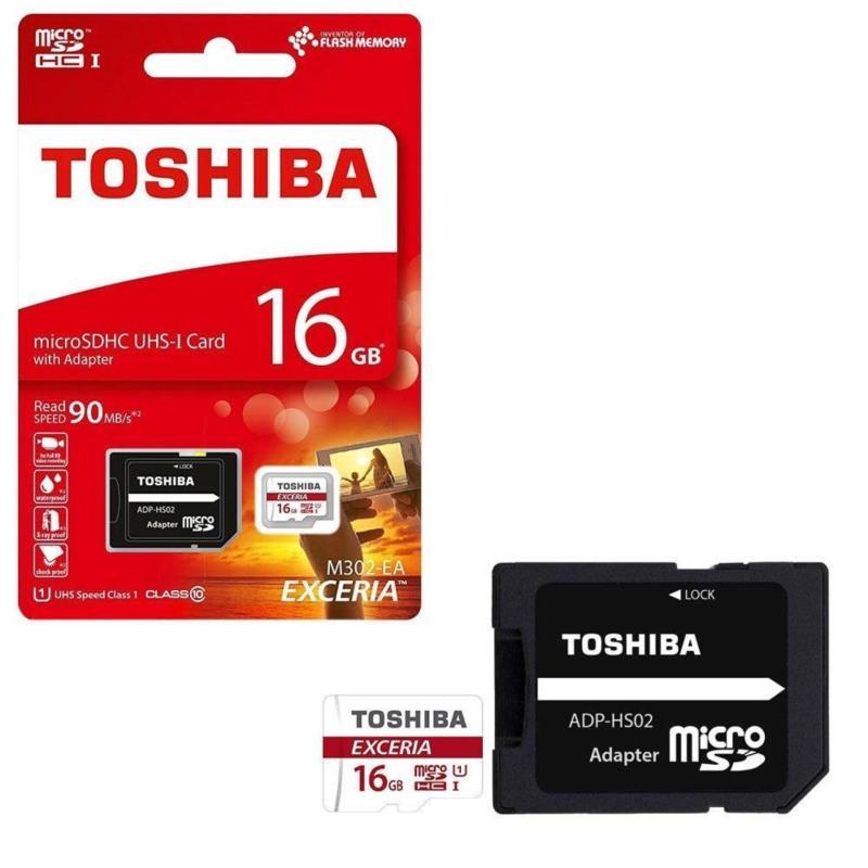 Thẻ nhớ MicroSD Toshiba 16G Box Class10 90MB/s (Đỏ)