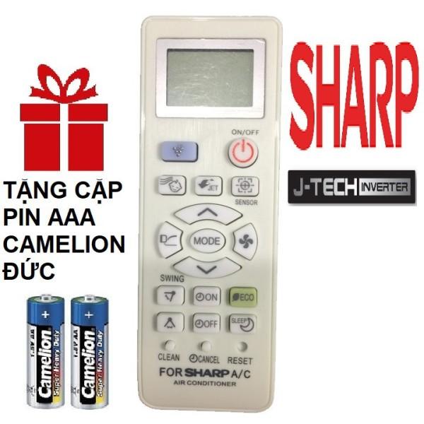 Điều khiển điều hoà Sharp đa năng cho các dòng 1 chiều 2 chiều Remote máy lạnh sharp đa năng