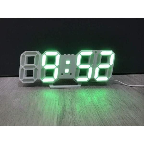 Đồng hồ LED treo tường 3D phong cách Hàn Quốc bán chạy
