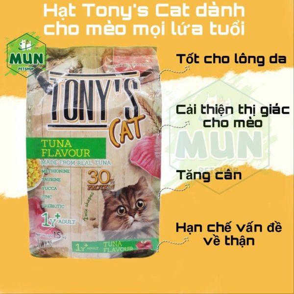 Thức ăn hạt cho mèo Tony's Cat túi 1,5kg