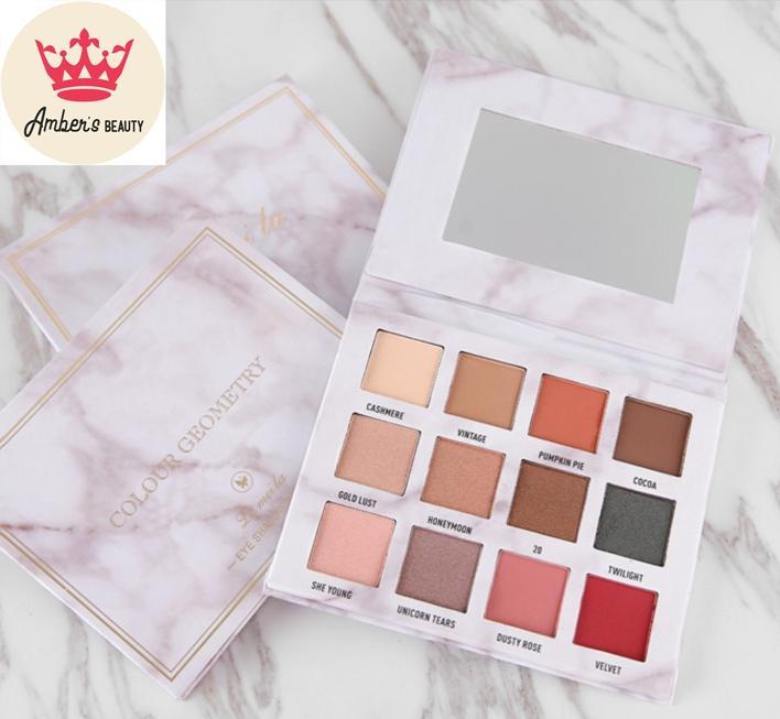 Bảng Phấn Mắt 12 Màu Color Geo Lameila Eye Shadow L0102 tốt nhất