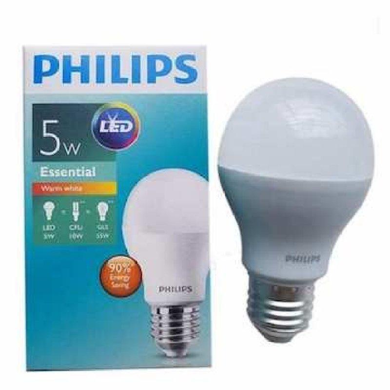Bóng ESS Led Bulb 5w  Philips Trắng, vàng