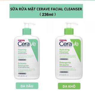 Sữa Rửa Mặt Cerave Foaming-Hydrating Facial Cleanser 236ml thumbnail