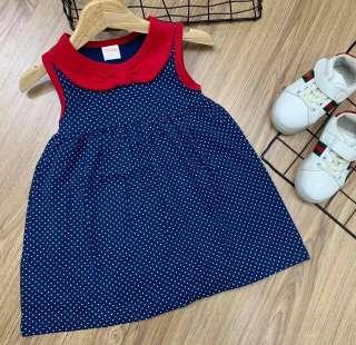 Đầm Babydoll siêu yêu cho bé gái 8-20kg - Váy xinh cho bé - Đầm hè cho bé