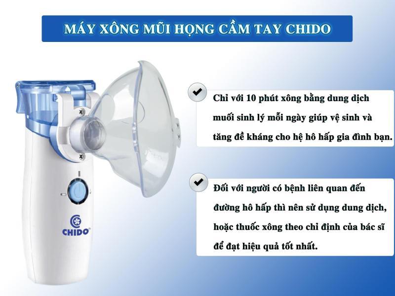 Máy xông mũi họng điện dung, Công nghệ nhật bản, Sản phẩm hỗ trợ điều trị hiệu quả các bệnh về đường hô hấp