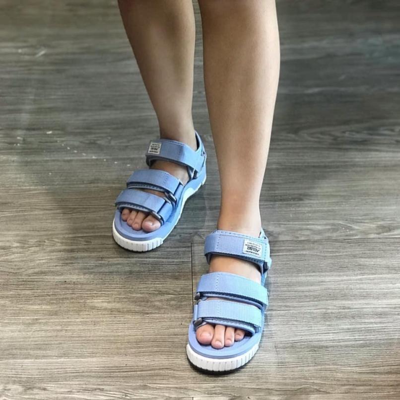 Giày Sandal Nữ Vento Đế Cao 2.5cm Siêu Nhẹ Xăng Đan Nữ 3 Quai NV9801 XD giá rẻ