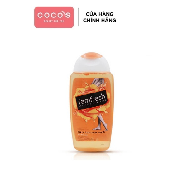 Dung dịch vệ sinh phụ nữ Femfresh Intimate Skin Care Daily Intimate Wash 250ml
