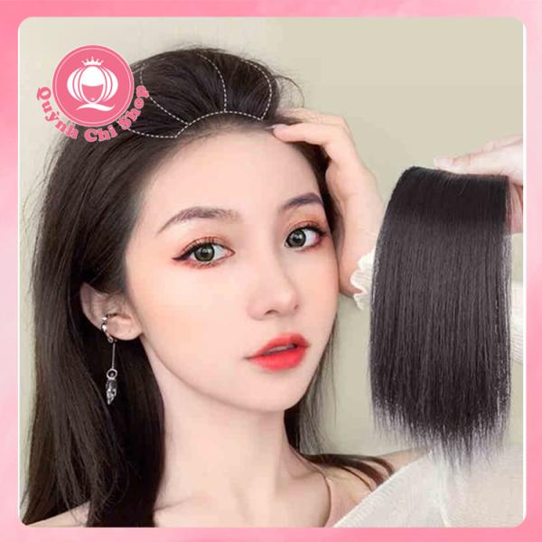 Kẹp phồng chân tóc CAO CẤP, tóc giả ngắn 20 cm, đủ màu, giá bán 1 bên nhập khẩu