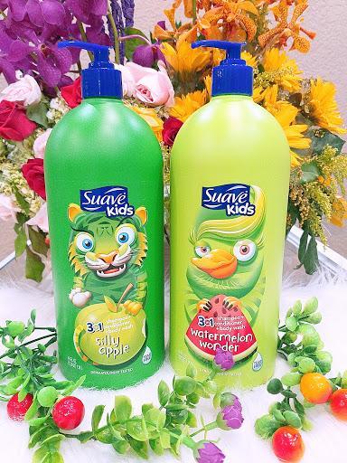 Sữa Tắm, Gội Và Xả Cho Bé Suave Kid 3 In1 Của Mỹ 1.18L - Mùi Tùy Ý Giá Siêu Rẻ