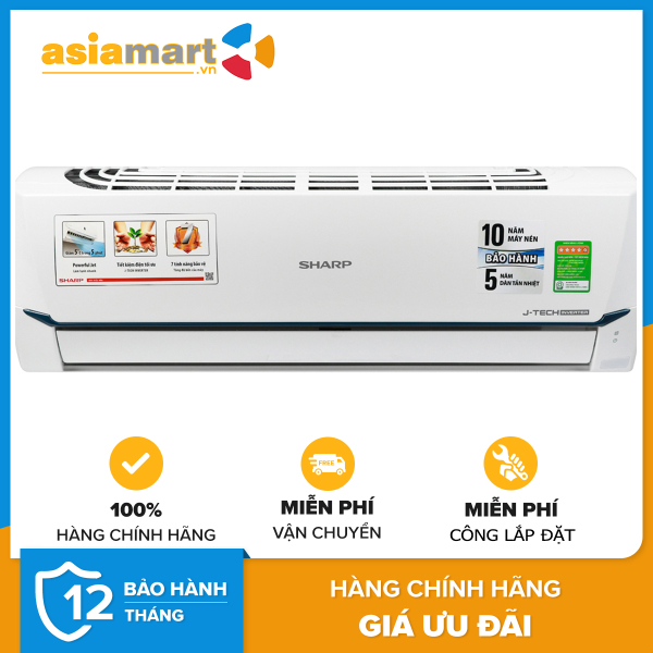 Bảng giá Máy lạnh Super Inverter Sharp AH-X9XEW 1.0HP