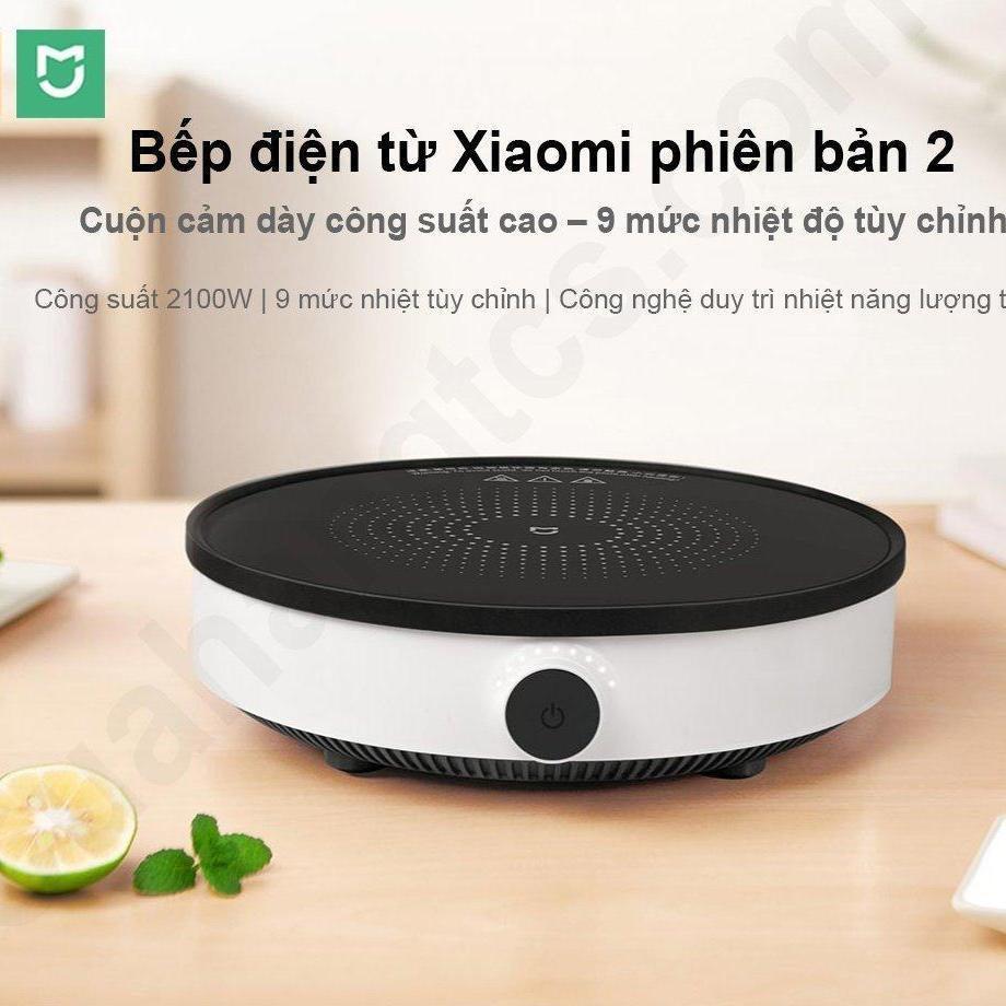 Offer tại Lazada cho 💦 Bếp Điện Từ Thông Minh Xiaomi Mijia Gen 2 DCL002CM Youth Lite ( Xiaomi Induction Cooker ) Hàng Fullbox