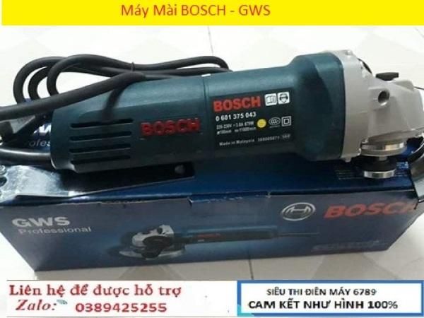 MÁY MÀI CẦM TAY - BOSH GWS6-100