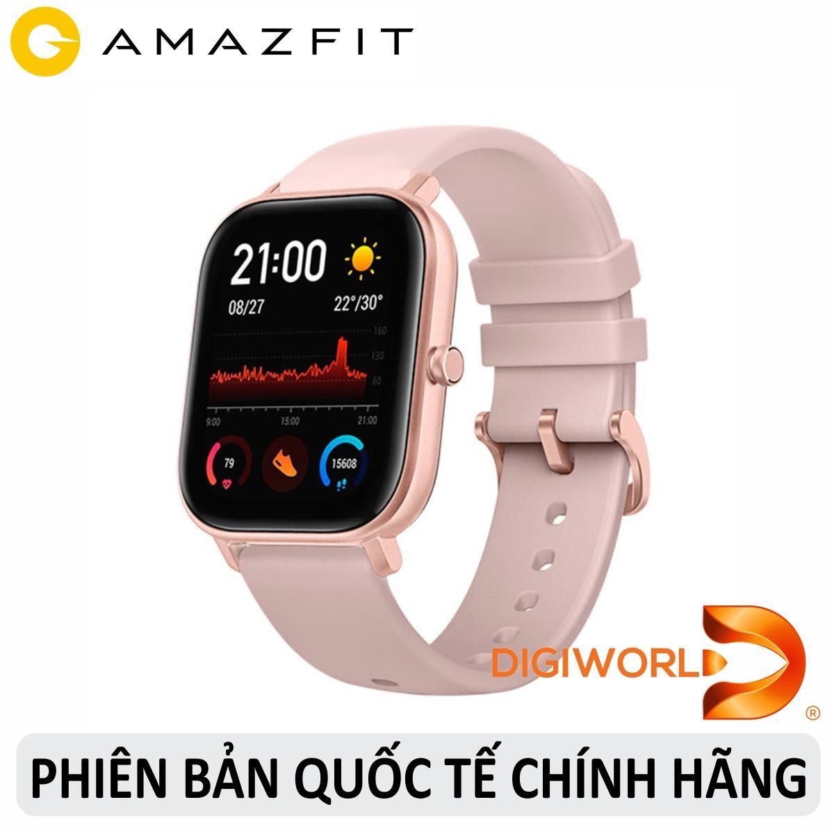 Đồng hồ thông minh Xiaomi Amazfit GTS - Hàng Chính Hãng Digiworld