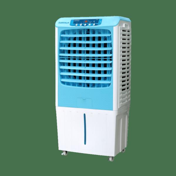 Máy làm mát Daikiosan DKA-04000B / DKA-04000A - New, có diện tích từ 25-30m2, Với nguyên lý làm mát không khí bằng cách làm bay hơi nước, không gây khô da, không đòi hỏi không gian kín